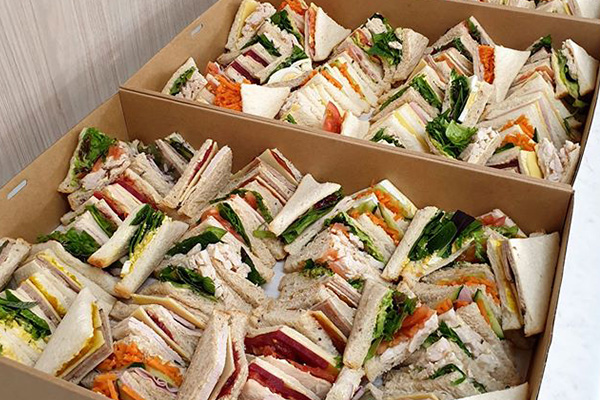 Catering - assorted sandwiches