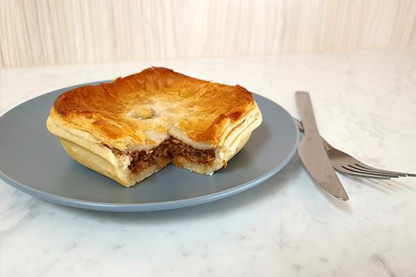 Savouries - pies, pasties, sausage rolls